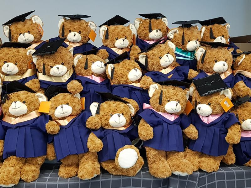 graduation plushy
