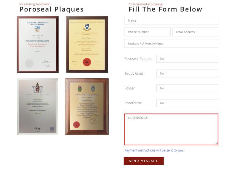 academic plaques